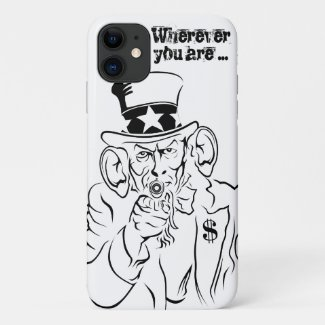 Uncle Sam iPhone 11 Case