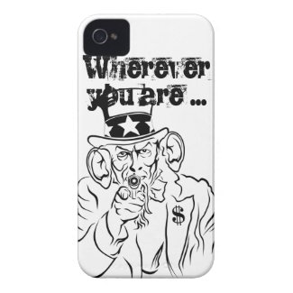 Uncle Sam iPhone 4 Case-Mate Case