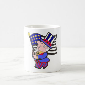 Uncle Sam Celebrates the 4th Coffee Mug