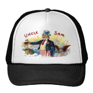 Uncle Sam Cigars July 4th Vintage Trucker Hat
