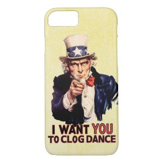 Uncle Sam Clogging Dance iPhone 8/7 Case