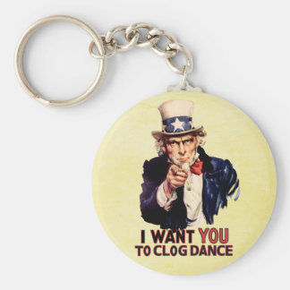 Uncle Sam Clogging Dance Keychain