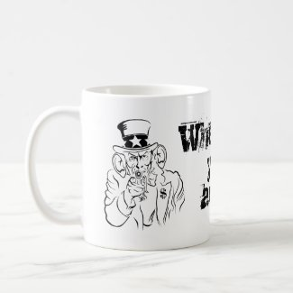 Uncle Sam Coffee Mug