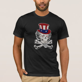 Uncle Sam & Crossbones T-Shirt