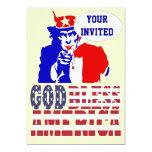 Uncle Sam, Custom Invitation