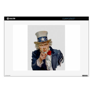 Uncle Sam Decal For Laptop