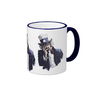 Uncle Sam Facepalm Coffee Mug