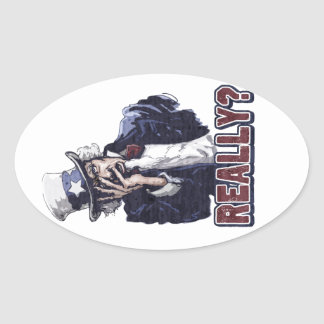 Uncle Sam Facepalm Sticker
