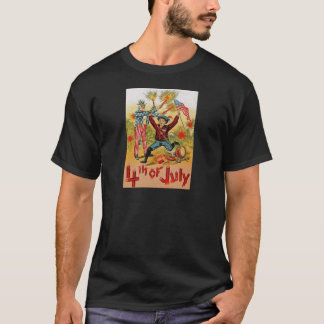 Uncle Sam Fireworks Child Vintage 4th of July T-Shirt