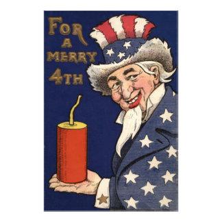 Uncle Sam Fireworks Firecracker Photo Print