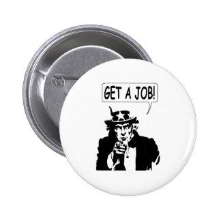 Uncle Sam Get A Job Pins