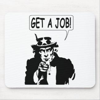 Uncle Sam Get A Job Mouse Pad