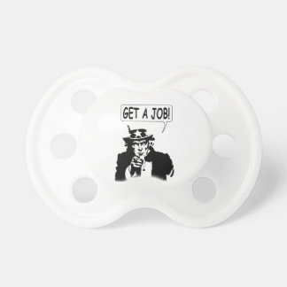 Uncle Sam Get A Job Pacifiers