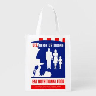 Uncle Sam Grocery Bag