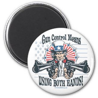 Uncle Sam Gun Control Magnet