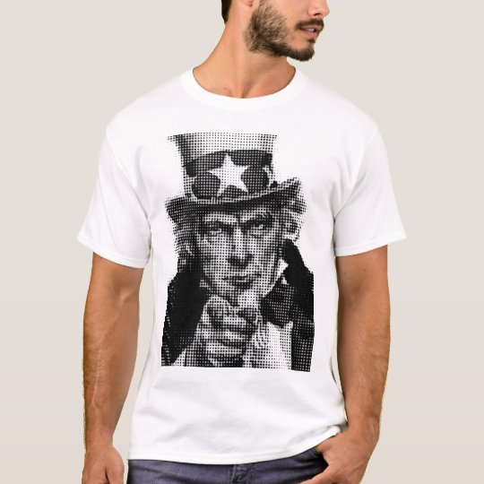 uncle sam half tone T-Shirt