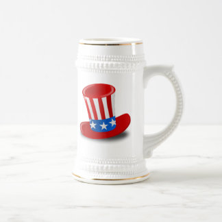 Uncle Sam Hat Beer Stein
