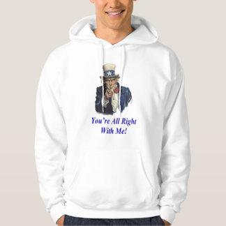 Uncle Sam Hooded Sweatshirt