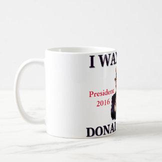 Uncle Sam I Want You Donald Trump 2016 Coffee Mug