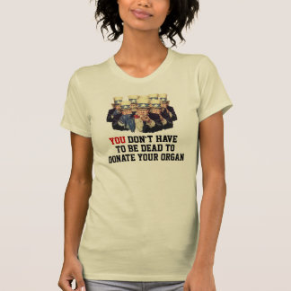 Uncle Sam I Want You Donate Organ Template Funny Tshirts