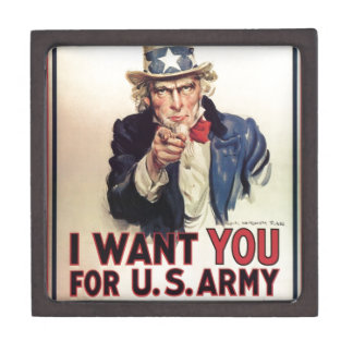 Uncle Sam - I Want You Gift Box