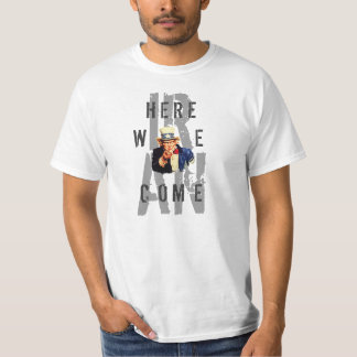 Uncle Sam I Want You Iran Here We Come Template T-Shirt