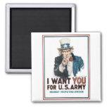 "Uncle Sam ""I Want YOU!"" Magnet"