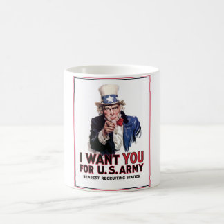 "Uncle Sam ""I Want You"" Coffee Mug"