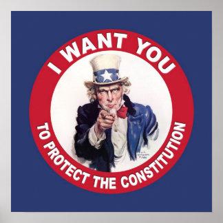 Uncle Sam: I WANT YOU... Print