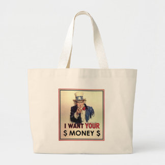 Uncle Sam - I Want Your Money Bag