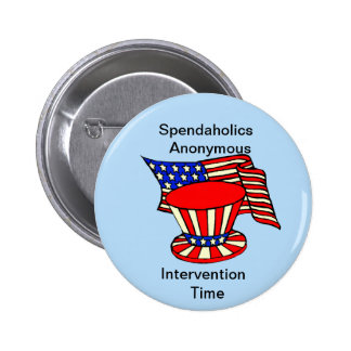 Uncle Sam is a shopaholic Intervention Time Button
