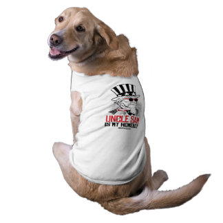 Uncle Sam is my Homeboy Pet Tee Shirt