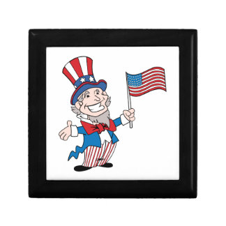 Uncle Sam Jewelry Box