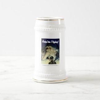 Uncle Sam -- Keep 'Em Flying 18 Oz Beer Stein