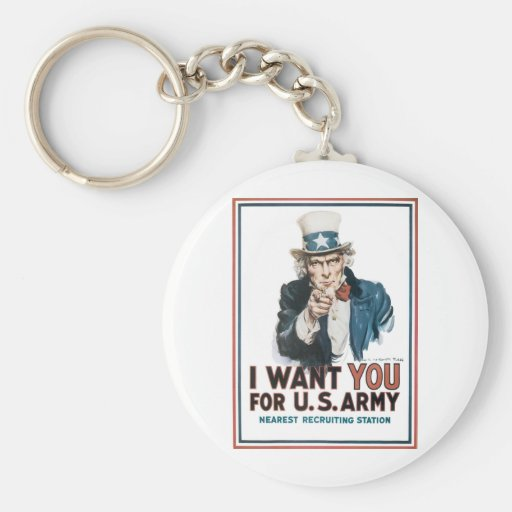 Uncle Sam Keychains