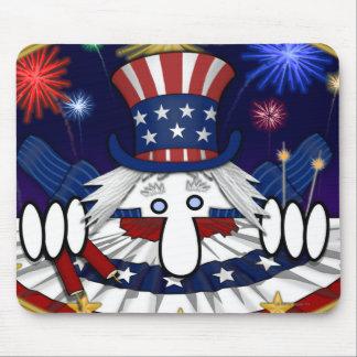 Uncle Sam Kilroy Mousepad
