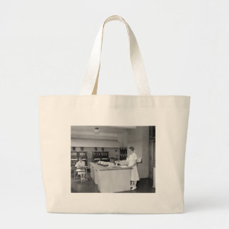 Uncle Sam Knows Turkey, 1937 Large Tote Bag