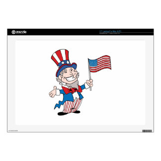 Uncle Sam Laptop Decal