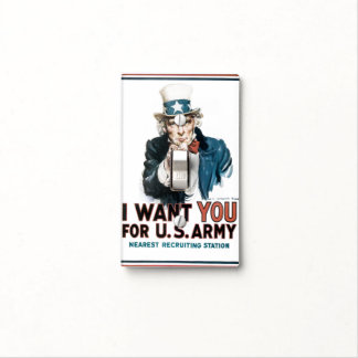 Uncle Sam Light Switch Cover