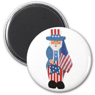 Uncle Sam Logo Magnet