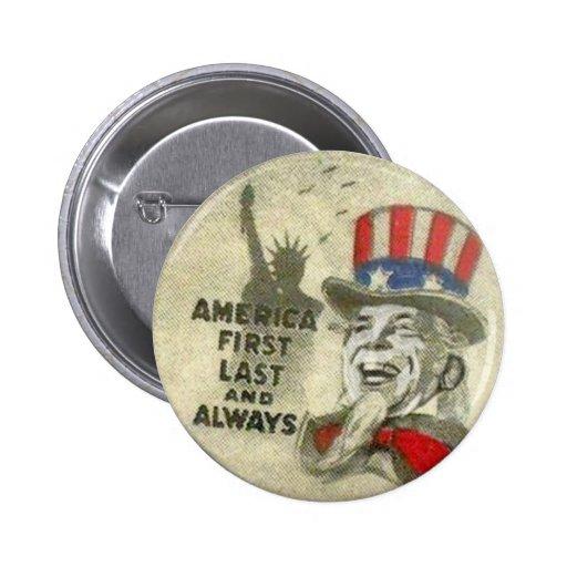 Uncle Sam McCain Button