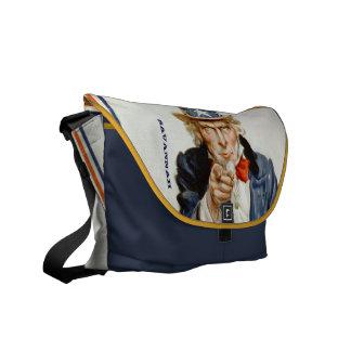 UNCLE SAM Messenger Bag