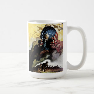 Uncle Sam - N. C. Wyeth Coffee  Mug