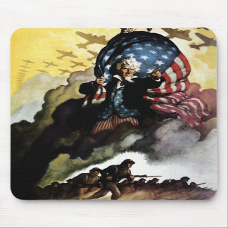 Uncle Sam - N. C. Wyeth Mousepad
