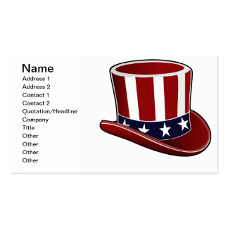 Uncle Sam Needs $$ Business Card