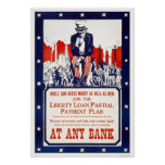 Uncle Sam needs money... Poster