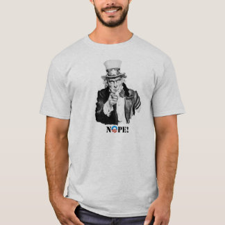 Uncle Sam - Nope - Nobama Tee