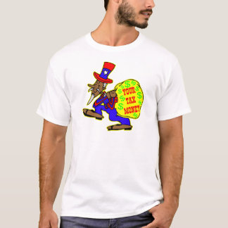Uncle Sam Obama And Your Tax Money T-Shirt