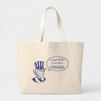 Uncle Sam - Obama Canvas Bag