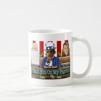 Uncle Sam Obama Classic White Coffee Mug